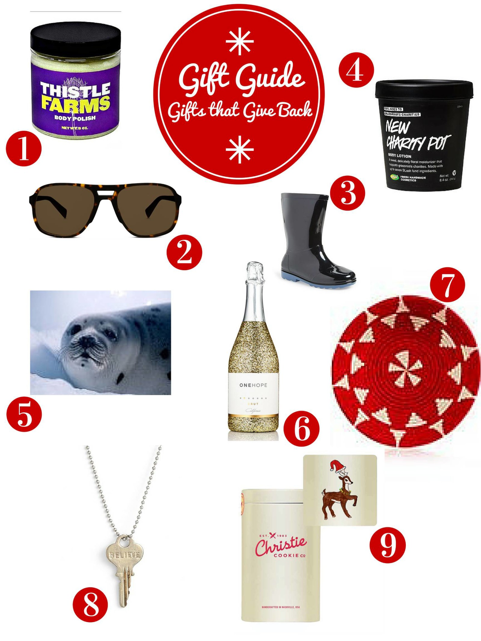 Gift Guide: Gifts that Give Back