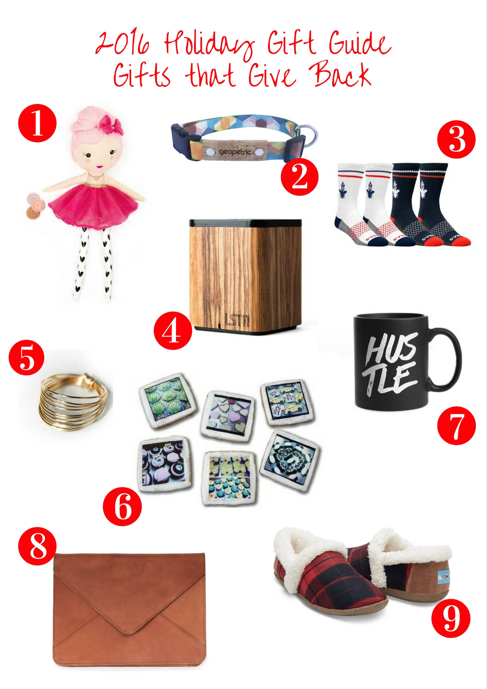 2016 Holiday Gift Guide: Gifts that Give Back
