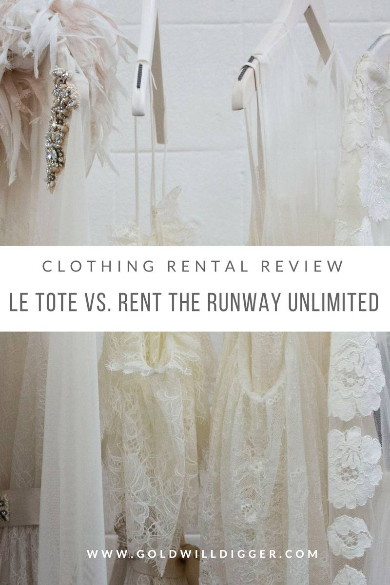 clothing rental review
